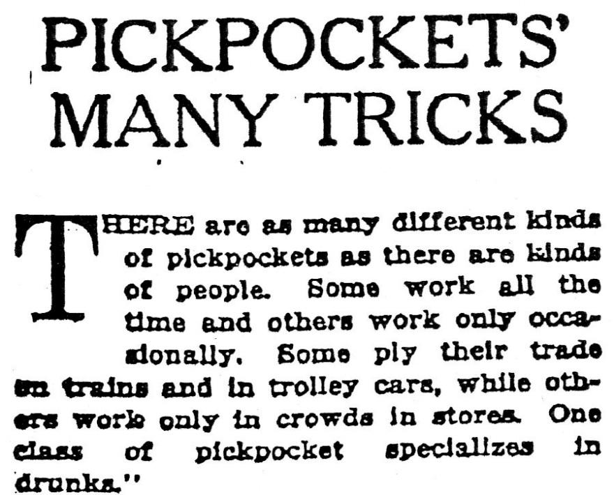 pickpocketstricksnytheadline